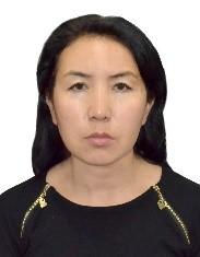 Жамилова Гульмира Коконовна